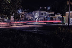 Heller Streifen im Stadtzentrum gelegenes Tutrakan Lizenzfreie Stockfotografie