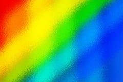 Heller unscharfer abstrakter Hintergrund von Farbstreifen stock abbildung