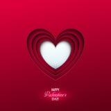 Heller Valentinsgruß ` s Tageshintergrund Stockfoto