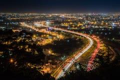 Heller Versuch im Hsuehshan-Tunnel Lizenzfreie Stockbilder