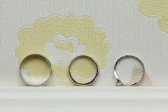 Heller weißer Hintergrund Stockbilder