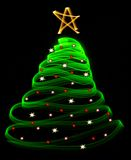 Heller Weihnachtsbaum Lizenzfreies Stockbild