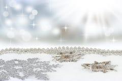 Heller Weihnachtshintergrund Lizenzfreies Stockfoto