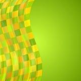 Heller wellenförmiger Hintergrund Stockbilder
