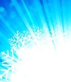 Heller Winterhintergrund vektor abbildung
