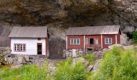 Helleren, Noorwegen Stock Foto