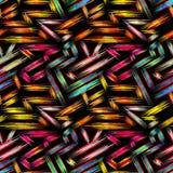 Helles abstraktes geometrisches nahtloses Muster in der Graffitiart Qualitätsvektorillustration für Ihr Design stock abbildung