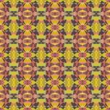 Helles abstraktes Mosaikmuster des nahtlosen Vektors Lizenzfreie Stockbilder