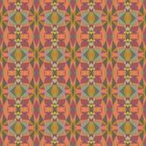 Helles abstraktes Mosaikmuster des nahtlosen Vektors Stockbilder