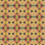 Helles abstraktes Mosaikmuster des nahtlosen Vektors Lizenzfreies Stockbild