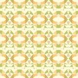 Helles abstraktes Mosaikmuster des nahtlosen Vektors Stockbild