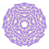 Helles abstraktes Muster, Mandala Lizenzfreies Stockfoto