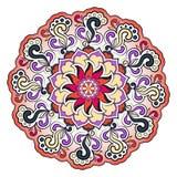 Helles abstraktes Muster, Mandala Stockbilder