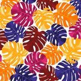 Helles abstraktes tropisches Gestaltungselement Lizenzfreies Stockbild