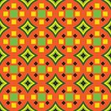Helles afrikanisches Design in den hellen Farben lizenzfreie abbildung