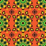 Helles afrikanisches einzigartiges Druck-Design stock abbildung