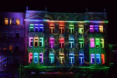 Helles Bewegungsfestival, Lodz Lizenzfreie Stockbilder