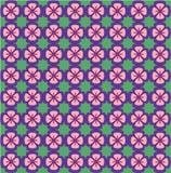Helles Blumenmuster Nahtlose vektorbeschaffenheit Elegante Schablone für Modedrucke ultraviolett Lizenzfreie Stockfotografie