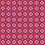 Helles Blumenmuster Nahtlose vektorbeschaffenheit Elegante Schablone für Modedrucke ultraviolett Stockfotos