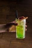 Helles Cocktail Stockbild