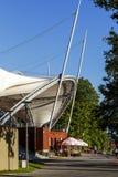 Helles Dach über dem Amphitheater Lizenzfreie Stockfotografie