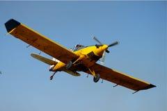Helles Flugzeug Stockfotografie