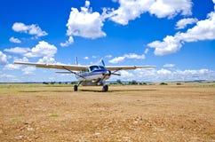 Helles Flugzeug Lizenzfreie Stockfotos