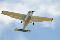 Helles Flugzeug Stockfotos