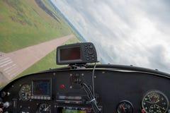Helles Flugzeug Lizenzfreie Stockfotografie