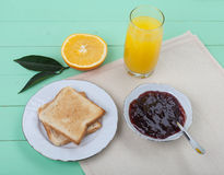 Helles Frühstück stockfotos
