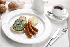Helles Frühstück Lizenzfreies Stockfoto