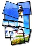 Helles Haus Stockfoto