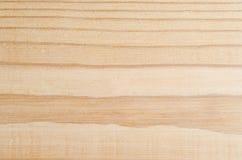 Helles Holz mit gestreiftem Korn Stockfotografie
