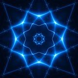 Helles Juwel. fractal02x5 lizenzfreie abbildung
