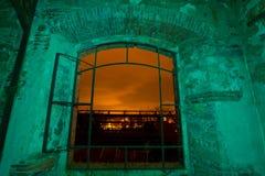 Helles Malereifenster Stockfotografie