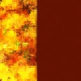 Helles Mosaik für Ihr Design mit Platz für Text. Vektor lizenzfreie abbildung