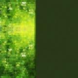 Helles Mosaik für Ihr Design mit Platz für Text. Vektor vektor abbildung
