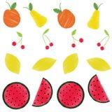 Helles Muster der Jahreszeitfrucht lizenzfreie abbildung