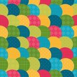 Helles Muster von Kreisen Stockbilder