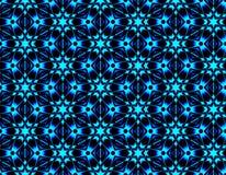Helles nahtloses Muster von geometrischen Formen mit Eis bessert aus Stockbild