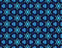 Helles nahtloses Muster von geometrischen Formen mit Eis bessert aus Lizenzfreie Stockfotos