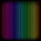 Helles Neon zeichnet Hintergrund Stockfoto