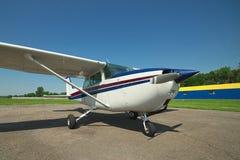 Helles privates Flugzeug Lizenzfreies Stockbild