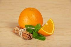 Helles reifes Orange und tadellos stockfotos