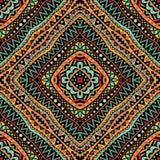 Helles Stammes- nahtloses Muster Stockfotos