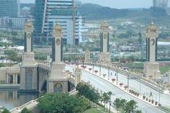 Helles Wawasan Putrajaya Malaysia Lizenzfreies Stockbild