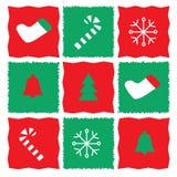 Helles Weihnachten stock abbildung