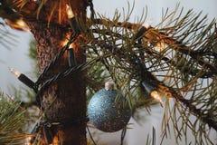 Helles Weihnachten Stockbild