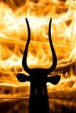 Hellfire Royalty-vrije Stock Afbeeldingen