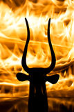 Hellfire Imagens de Stock Royalty Free
